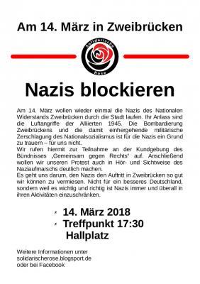 Nazis blockieren